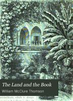 The Land and the Book PDF