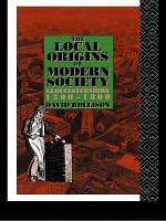 The Local Origins of Modern Society