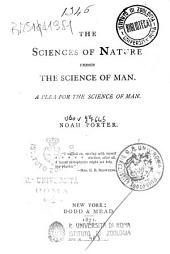 The Sciences of Nature Versus the Science of Man: A Plea for the Science of Man