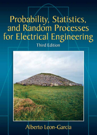 Probability  Statistics  and Random Processes for Electrical Engineering PDF