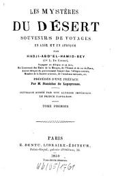Les Mystères du Désert: souvenirs de voyages en Asie et en Afrique, Volume1