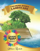 Coloring Book Landscape Adults