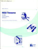 NASA Thesaurus
