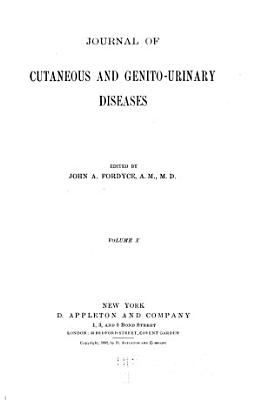 Journal of Cutaneous Diseases Including Syphilis PDF
