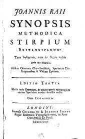 Synopsis methodica stirpium Britannicarum: Volume 1