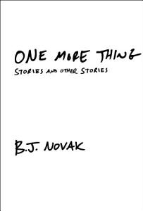 One More Thing Book
