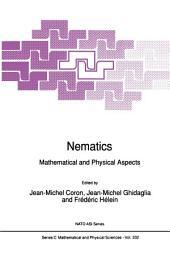 Nematics: Mathematical and Physical Aspects