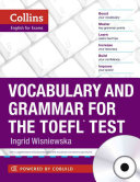 Vocabulary and Grammar for the TOEFL Test PDF