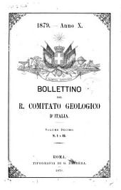 Bollettino del Servizio geologico d'Italia: Volume 10