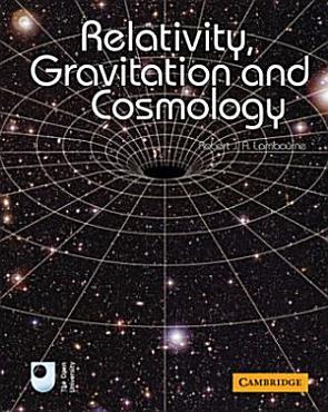 Relativity  Gravitation and Cosmology PDF