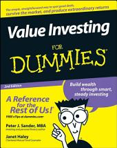 Value Investing For Dummies: Edition 2