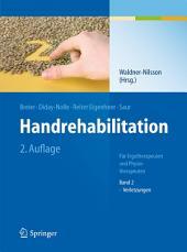 Handrehabilitation: Für Ergotherapeuten und Physiotherapeuten Band 2: Verletzungen, Ausgabe 2