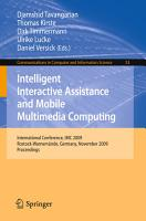 Intelligent Interactive Assistance and Mobile Multimedia Computing PDF