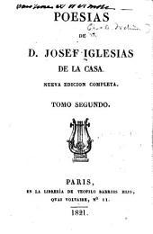 Poesias de Josef Iglesias de la Casa: Volumen 2