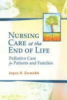 Nursing Care at the End of Life PDF