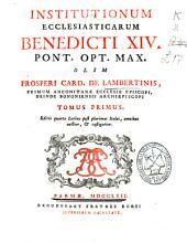 Institutionum ecclesiasticarum