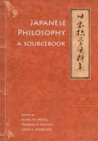 Japanese Philosophy PDF