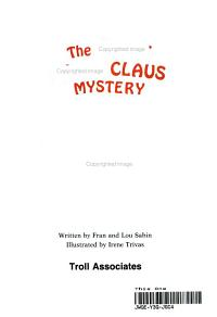 The Great Santa Claus Mystery