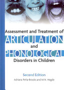 Assessment And Treatment Of Articulation And Phonological Disorders In Children Book PDF