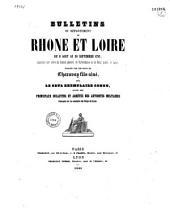 Bulletins du département de Rhône et Loire: du 8 août au 30 septembre1793...