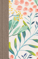 ESV Large Print Thinline Reference Bible  Berries and Blooms  Book