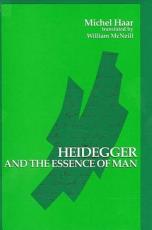 Heidegger and the Essence of Man PDF