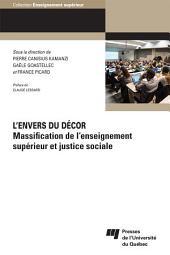 L'envers du décor: Massification de l'enseignement supérieur et justice sociale