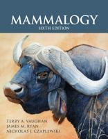 Mammalogy PDF
