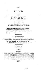 The Iliad of Homer: Volume 3