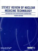 Steves  Review of Nuclear Medicine Technology PDF