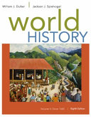 World History  Volume II  Since 1500