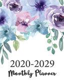 2020 - 2029 Ten Year Monthly Planner