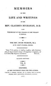 Memoirs of the Life and writings of the Rev. ---., D.D. late ...