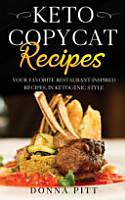 Keto Copycat Recipes PDF