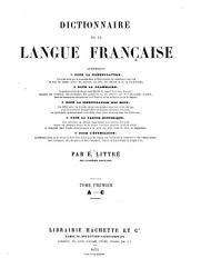 Dictionnaire de la langue fran  aise contenant     la nomenclature     la grammaire     la signification des mots     la partie historique     l   tymologie     PDF