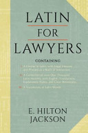 Latin for Lawyers  Containing PDF