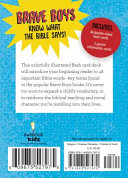 Brave Boys Bible Words Flash Cards