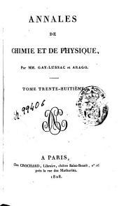 Annales de chimie et de physique: Volume38