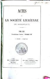 Actes de la Société linnéenne de Bordeaux: Volume24