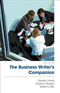 The Business Writer s Companion Book