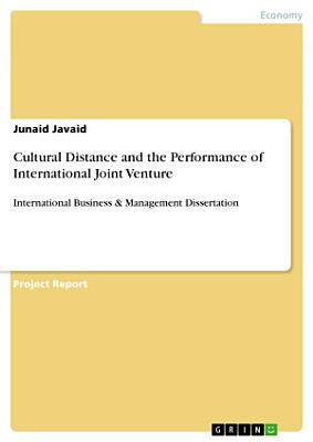 Cultural Distance and the Performance of International Joint Venture PDF