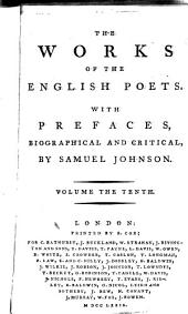The Works of the English Poets: With Prefaces, Biographical and Critical, Volume 10