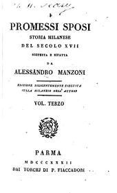 I promessi Sposi, 3: storia milanese del secolo XVII, Volume 1
