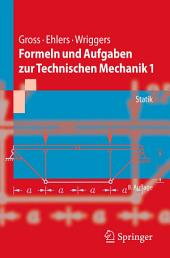 Formeln und Aufgaben zur Technischen Mechanik 1: Statik, Ausgabe 8