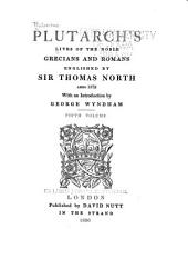 Plutarch's Lives of the Noble Grecians and Romans: Volume 11