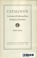 Catalogue  University of California Press Publications PDF