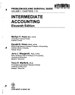 Intermediate Accounting  Chapters 1 14   Self Study Problems Solutions Book Volume PDF