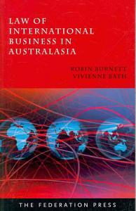 Law of International Business in Australasia PDF
