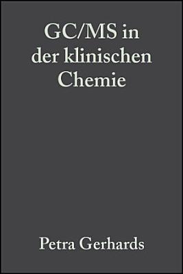 GC MS in der klinischen Chemie PDF