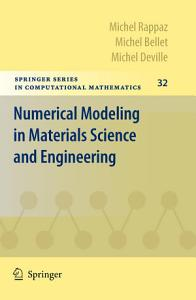 Numerical Modeling in Materials Science and Engineering PDF